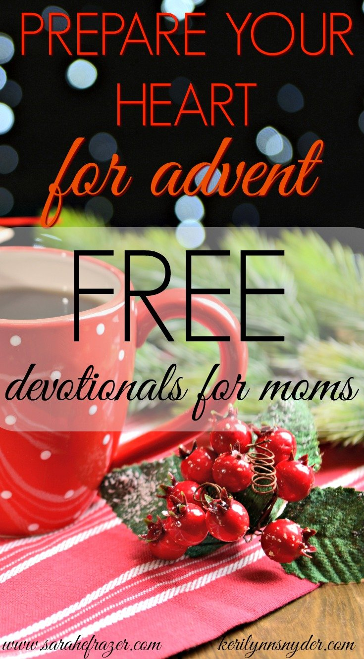 Prepare your Heart for Advent Series- for moms