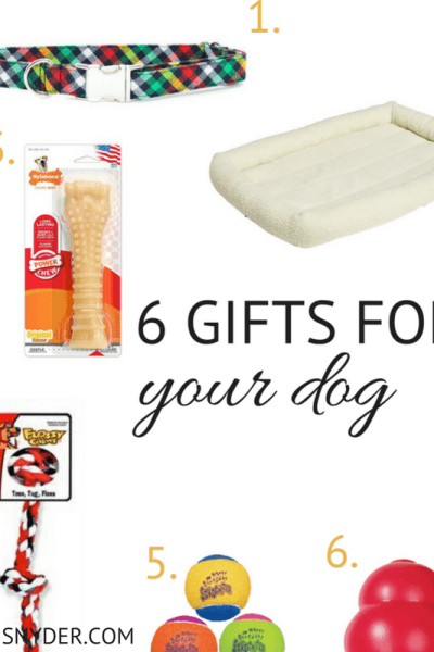 A Simple Dog Gift Guide