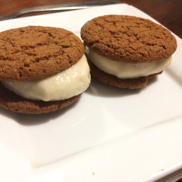 Ginger Nice Cream Sandwiches