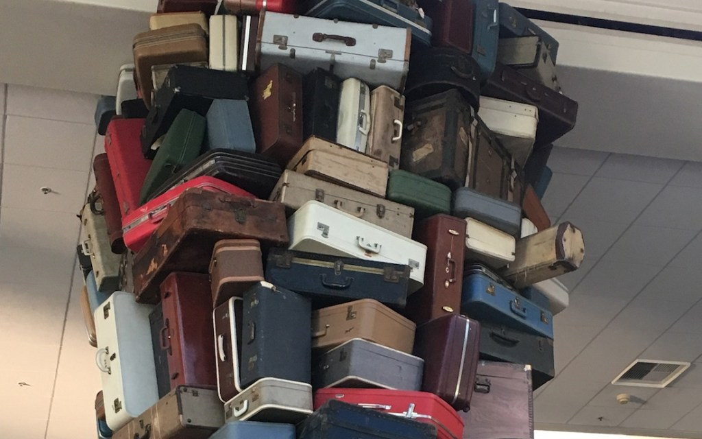 luggage stack