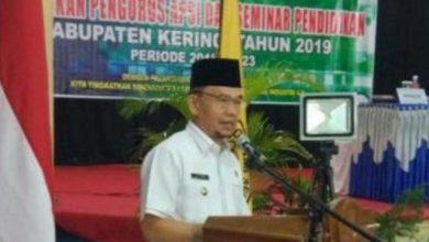 Photo of Bupati Kerinci Hadiri Pelantikan Nailil Husna Sebagai Ketua APSI Kerinci