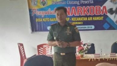 Photo of Danramil Air Hangat Hadiri Pelatihan Pemuda