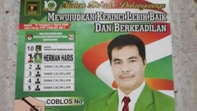 Photo of Ternyata Herman Haris Juga Nyaleg Untuk DPRD Kerinci
