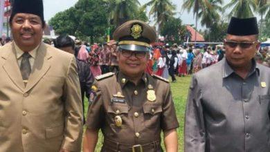 Photo of Ami Taher Wakil Bupati Kerinci Hadiri Upacara HUT Satpol PP di Merangin