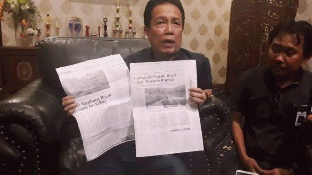 Photo of Bupati Syahirsah Lapor Polisi, Terkait Ada Oknum Kades Diduga Buat Keterangan Palsu