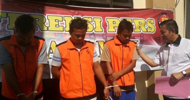 3 Pelaku Pengelola Minyak Illegal Diamankan Polda Jambi