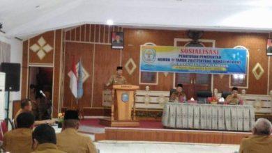 Photo of Adirozal Bupati Kerinci Buka Sosialisasi Manajemen PNS