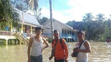 Photo of Banjir Bandang di Batanghari, Kegiatan Belajar Terhenti, 10 KK Mengungsi