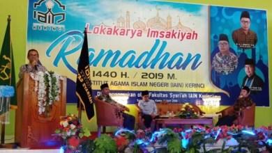 Photo of Fakultas Syariah IAIN Kerinci Gelar Lokakarya Imsyakiah Ramadan