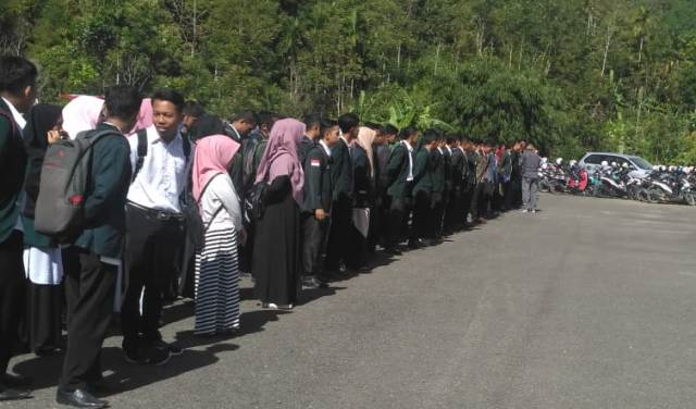 Rektor IAIN Kerinci Lepas 400 Mahasiswa Kukerta