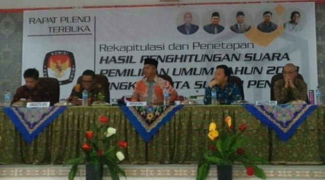 Photo of Di Sungai Penuh, Jokowi 16.50 Persen, Prabowo 83,50 Persen