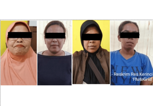 Photo of Judi Kartu Remi, Seorang Nenek dan 3 Emak-Emak di Sungai Penuh Diamankan Polisi