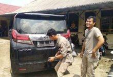 Photo of Alphard yang Hilang di RS Raden Mataher Jambi Ditemukan