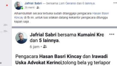 Photo of Setelah IMK-K, Lusi Juga Tuai Simpati Warga dan Pengacara Hasan Basri