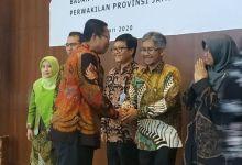 Photo of Munasri Sekda Kota Sungai Penuh Hadiri Sertijab Kepala BPK RI Perwakilan Jambi