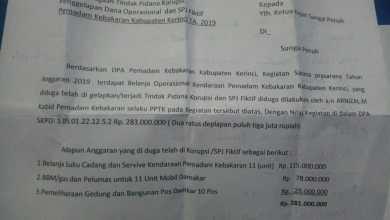 Photo of Diduga Korupsi Ratusan Juta, Arnizal Kabid Damkar Kerinci Dilaporkan ke Kejaksaan