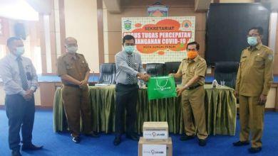 Photo of Wako AJB Terima Bantuan APD dari Bank Jambi