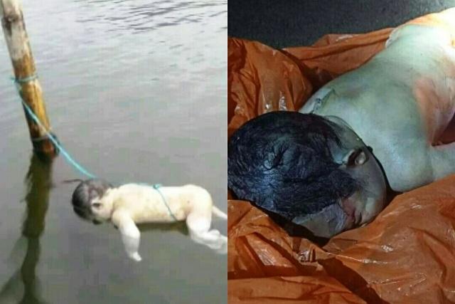 Photo of Mayat Bayi Ditemukan Mengapung di Sungai Batang Merao
