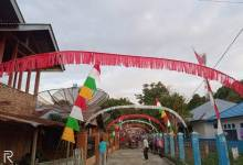 Photo of Manfaatkan Sisa Kertas Layangan, Semarakkan HUT RI di Desa Baru Semerah