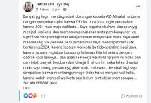 Photo of Ini Kata Defitra Eka Jaya, Terkait Di Isukan Berpura-Pura Ingin Perubahan Padahal Ingin Maju Di Pilwako 2024