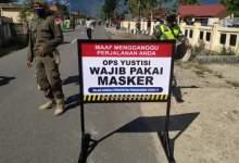 Photo of Tidak Pakai Masker di Kerinci Dikenakan Sanksi