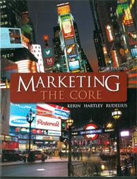 Marketing The Core 5th Edition | Kerin, Hartley & Rudelius