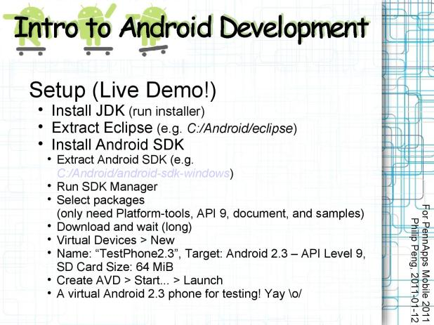 2011-01-12 Intro to Android Development 009