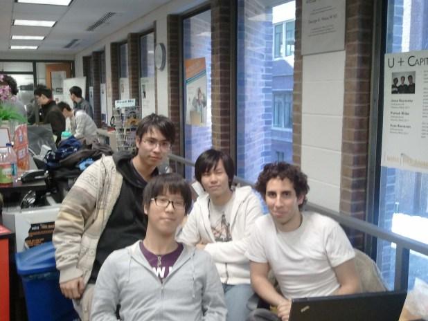 Team CJT: Philip Peng, Gianni Chen, Albert Kwon, Seth Shannin