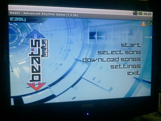 Beats 1.5.5b running on Beagleboard-xM