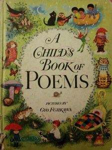 A photo from Amy of the very book she loved as a little chick.