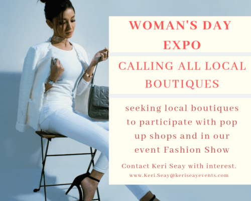 strut your stuff at the woman's day expo