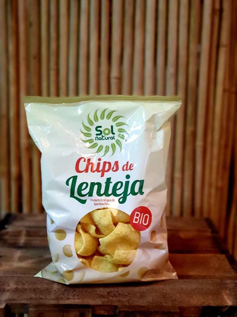 Chips de lentejas Bio Sol Natural