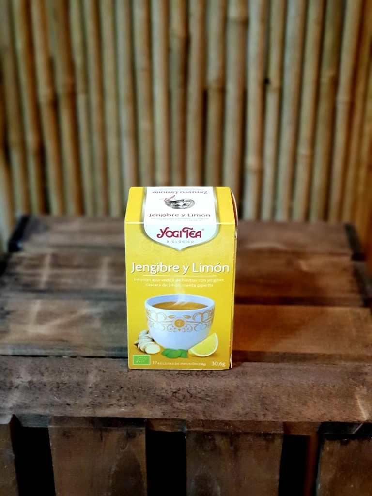 Té jengibre y Limón Yogi Tea
