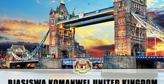 Permohonan Program Biasiswa Komanwel United Kingdom 2018