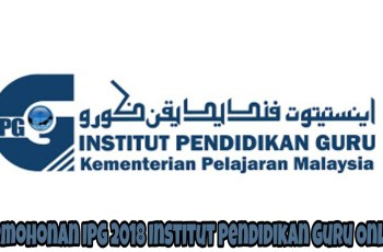 Permohonan IPG 2018 Institut Pendidikan Guru Online