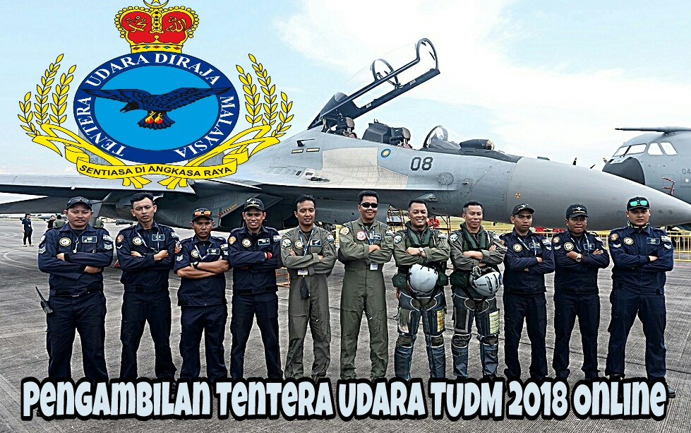 Pengambilan Tentera Udara TUDM 2018 Online