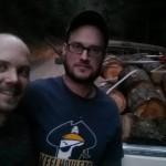 Drew and Jensen selfy
