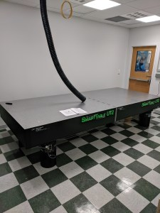 Optical Table Arrives