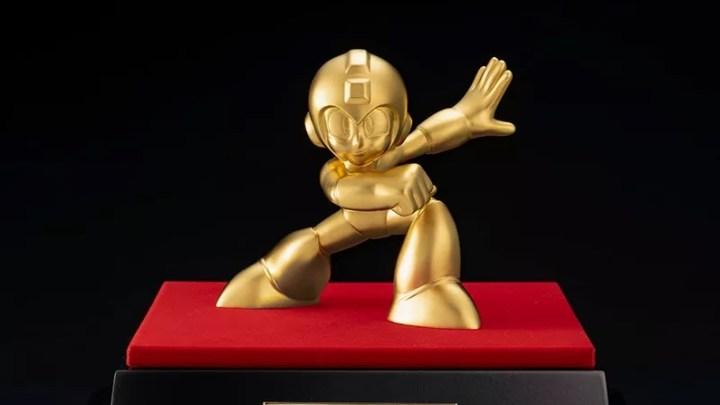 Figura de Mega Man de Oro