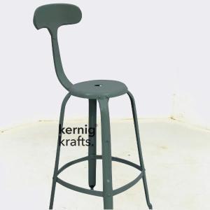 BCHM90386 Powder Coated Industrial Bar Chair