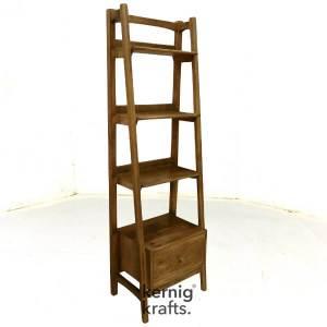 BORA09080 Solid Wood Modern Book Rack