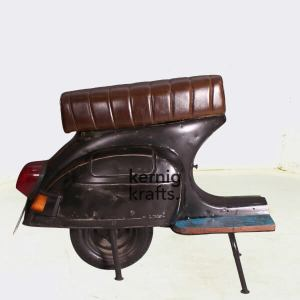 CHAM60580 Bajaj Chetak Scooter Repurposed As Seating