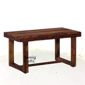 DINT67034 Barn StyleRustic Solid Wood Restaurant Table