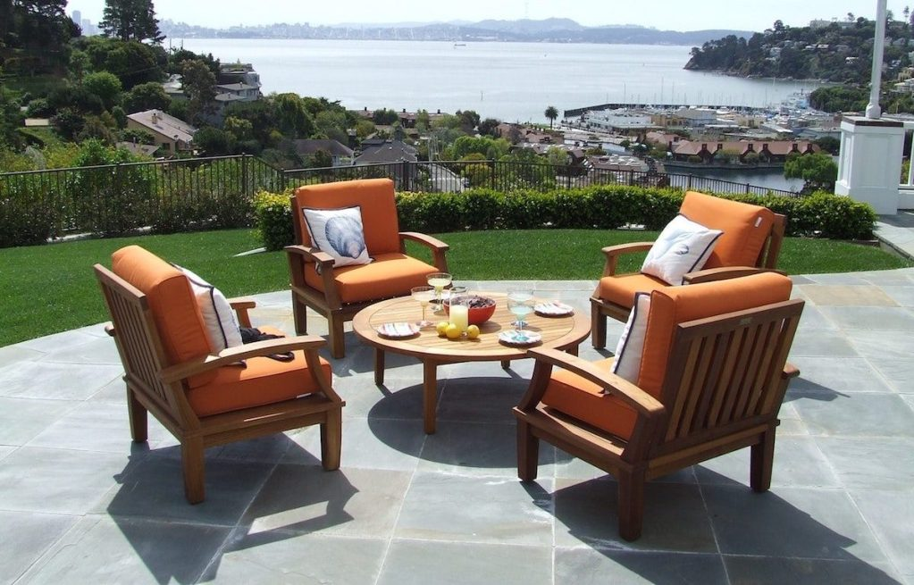teak patio furniture outdoor furniture set kernig krafts