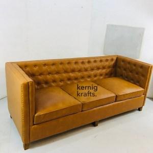 SOFA25571 Contemporary Design Three Seater Sofa with Tufted Back
