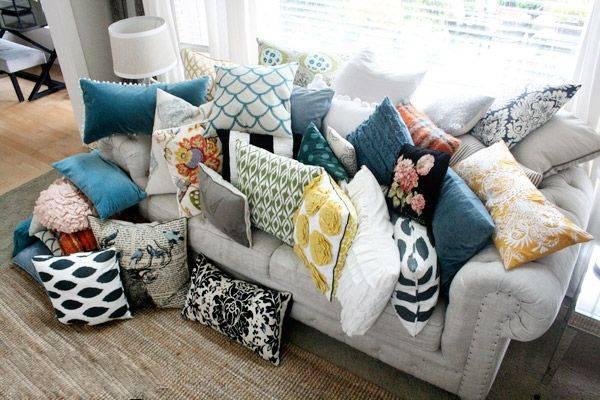 Pillow Sofa Living Room - Kernig Krafts - Customised Furniture