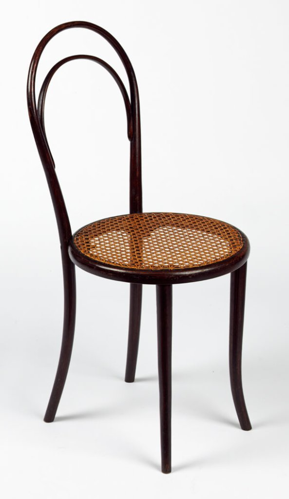 Chair  no. 14 thonet bentwood kernig krafts history design