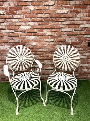 kernig krafts patio chair spring comfortable metal