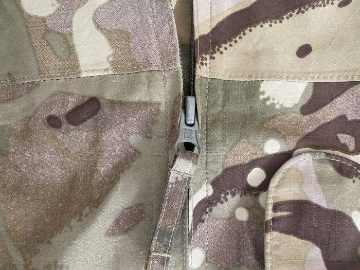 Army jacket zip