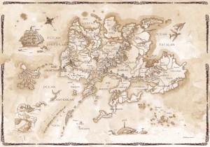 Carte des Kerns de l'Oubli